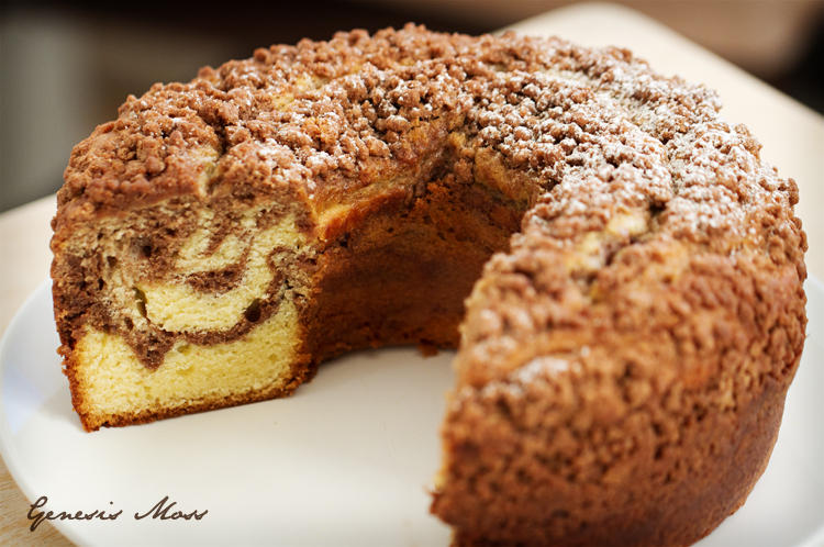 Coffee Cake Food Photographer Los Angeles