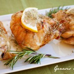 Rosemary Lemon Chicken | Los Angeles Food Photographer