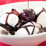 Cooking with Wine: Chocolate Port Wine Syrup with Cherries