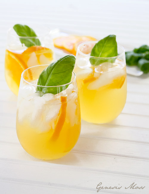 - Ornage_basil_sangria